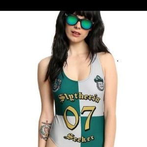 Slytherin one piece bathing suit